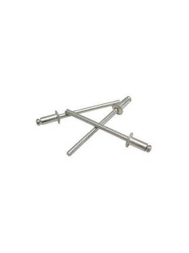Rivet aluminium 4.8 mm