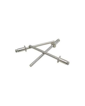 Rivet aluminium 4.8 mm