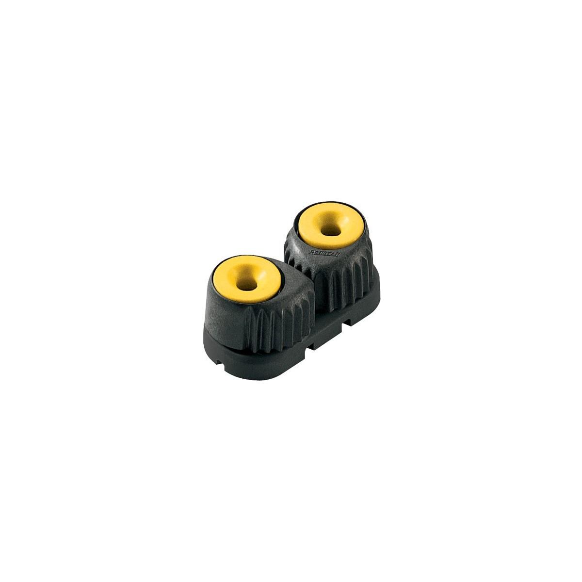 Taquet petit Cam Cleat Carbon base noir couleur noir rouge jaune ou vert