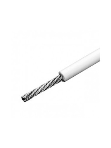 cable inox souple 1x19 gainé