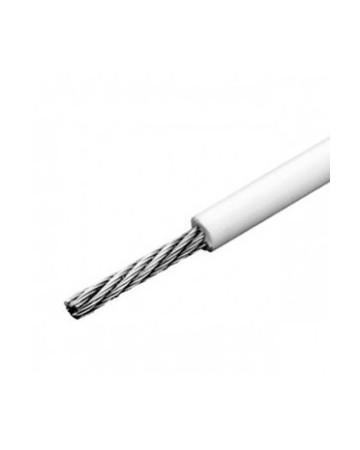 cable inox souple 1x19 gainé