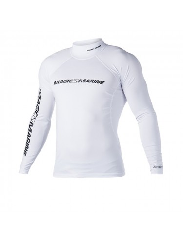 Lycra Blanc Magic Marine manches longues