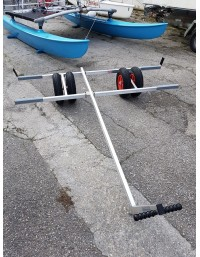 Chariot mise à l'eau catamarans multimodèles