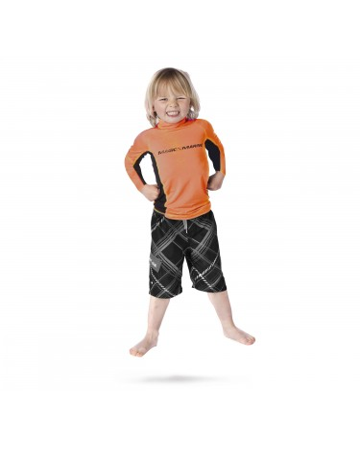 Lycra enfant orange